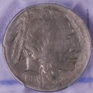 1913-D Buffalo Nickel.  Type-2,  Hard Date. Choice PCGS Graded AU-53.