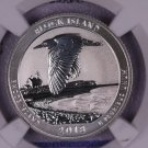 2018-S Block Island, National Park. Reverse Silver Proof.  SPECIAL U.S. Mint Issue.