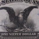 1899 $1 Silver Certificate, RARE, Fr #226,  SN 1359861, PMG Graded, CU-64.