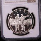 2004-P, Lewis & Clark, Commemorative Silver Commemorative Dollar Coin. & Display Box.