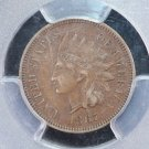 1867 Indian Head Penny.  Problem Free PCGS XF-45.  Highly Collectible.