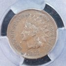 1868 Indian Head Penny.  Problem Free, Highly Collectible Grade.  PCGS XF-45.