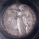 1915-S Pan Pac, Early Date Silver Commemorative Half Dollar. Low Mintage. ICG AU-55.