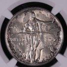 1926 Oregon Trail Commemorative Silver Half Dollar.  NGC Graded, MS-63.