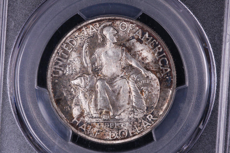 1936-D San Diego, Silver Half Dollar, Early Commemorative, PCGS MS-65.