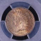 1861 Indian Head Penny, Choice Strike. PCGS MS-63. Better Date Coin.