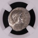 Greek Ancient Coinage, Cappadoclan Kingdom, 196-33 B.C. NGC Graded, XF.