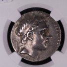 Seleucid Kingdom, Ancient Coin. Antiochus III, 222 - 187 B.C. NGC Graded, VF