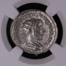 Roman Empire, Ancient Coin. Gordian III, AD 238-244. NGC Graded, AU.