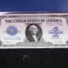 1923 $1 Large Note Silver Certificate. Horse Blanket. Nice Color.