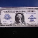 1923 $1 Large Note Silver Certificate. Horse Blanket. Nice Color. #1778