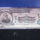 1902 $10 National Currency.  Chambersburg, Rough, Yet Collectible. Affordable.