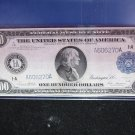 1914 $100 Federal Reserve Note. Very RARE note. Large Size. Nice Eye Appeal.