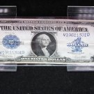 1923 $1 Large Note Silver Certificate. Horse Blanket. Nice Color. #1301