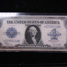 1923 $1 Large Note Silver Certificate. Horse Blanket. Nice Color. #0218