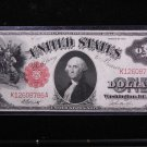 1917 $1 United States Legal Tender Note.  Nice Circualted Rare Note. #8786
