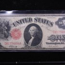 1917 $1 United States Legal Tender Note.  Nice Circualted Rare Note. #4904