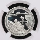 2019-S Washington Quarter. Pacific Historical Park. NGC PF-70, Ultra Cameo.  First release.