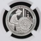 2019-S Washington Quarter. Lowell Historical  Park. NGC PF-70, Ultra Cameo.  First release.