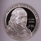 2006-P Ben Franklin $1 Commemorative Coin. NGC PF-70. Nice Strike.