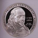 2006-P Ben Franklin $1 Commemorative Coin. NGC PF-70. Nice Strike.