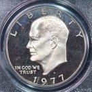1977-S Eisenhower Dollar. Clad Proof,  PCGS PF-69.