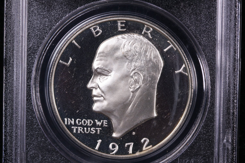1972-S Eisenhower Dollar. Silver Proof,  PCGS PF-69.