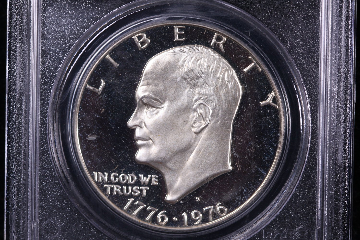 1976-S Eisenhower Dollar. Silver Proof,  PCGS PF-69.