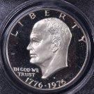 1976-S Eisenhower Dollar. Silver Proof,  PCGS PF-69.