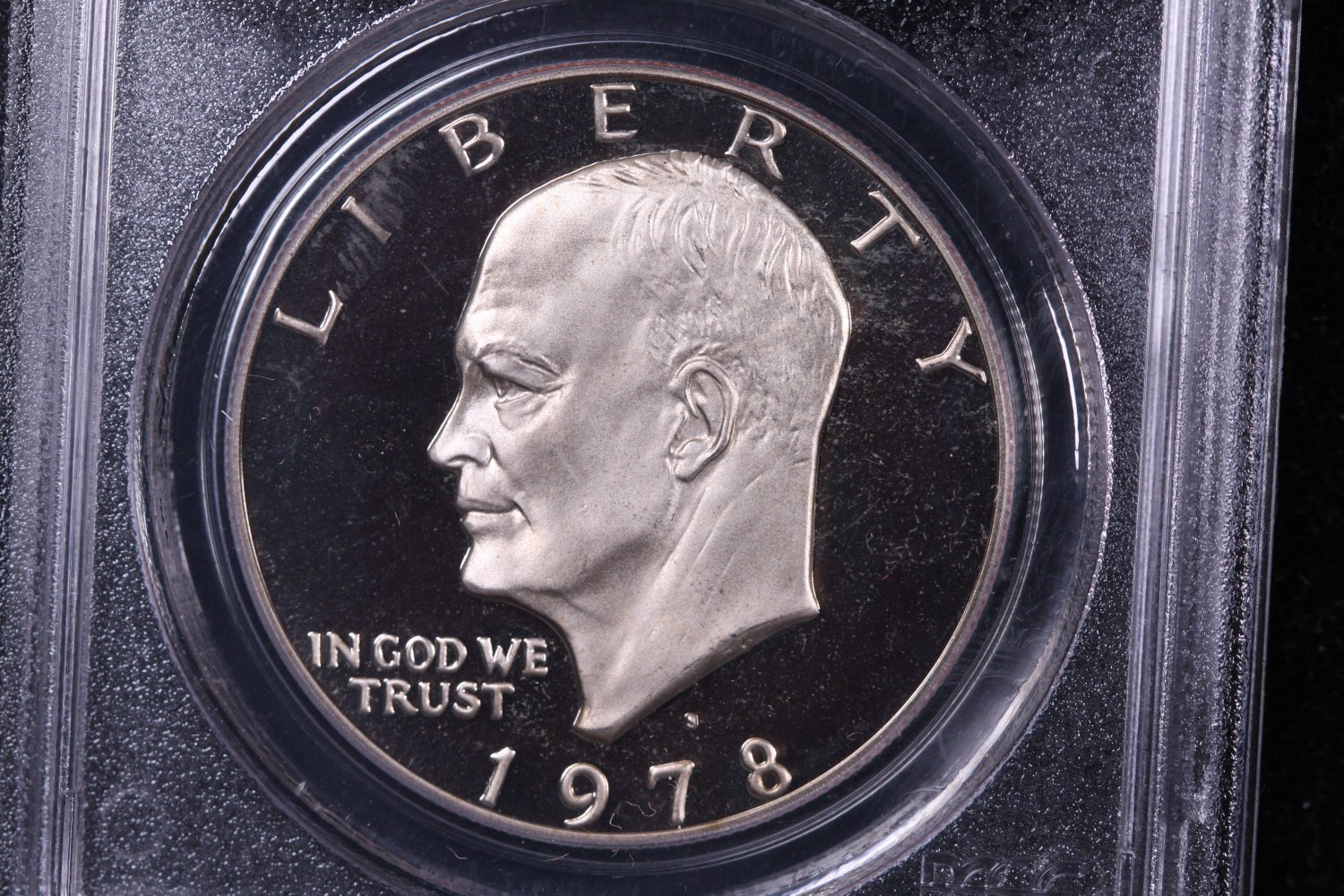 1978-S Eisenhower Dollar. Clad Proof,  PCGS PF-69.