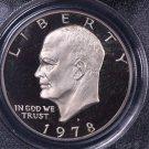 1978-S Eisenhower Dollar. Clad Proof,  PCGS PF-69.