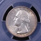 1935-S Washington Silver Quarter.  Nice Coin. PCGS AU-55.