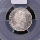 1835 Bavaria, 6 Kr. Nice Bold Strike. PCGS Graded, MS 65..