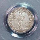 1744-IBH Germany Bruns-Cal-Hanover. 2 MGR. PCGS AU58.