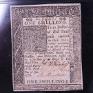 Delaware Colonial Note, January 1, 1776. 1 Shilling. PMG Graded XF45.