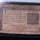 New York Colonial Note. $5. Dated August 13, 1776. PMG Graded VF20.