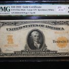 1922 $10 Gold Certificate, Fr# 1173 Mule, Speelman/White. PMG Graded VF25. MULE NOTE.