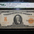 1907 $10 Gold Certificate, Fr#1167, Vernon/Treat.  Own History Today. Nice PMG VF25.
