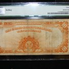 1907 $10 Gold Certificate, Fr#1173, Large Serial Numbers, Speelman/White,  PMG VF30