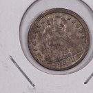 1853 Seated Liberty Half Dime.  Circulated Coin. Store Sale #0358.
