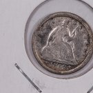 1853 Seated Liberty Half Dime.  Circulated Coin. Store Sale #0360.