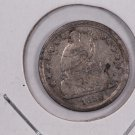 1858-O Seated Liberty Half Dime.  Circulated Coin. Affordable. Store Sale #0436.