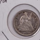 1859-O Seated Liberty Half Dime.  Circulated Coin. Affordable. Store Sale #0440.