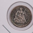 1861 Seated Liberty Half Dime.  UN-Circulated Coin. Affordable. Store Sale #0446.