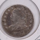 1823 Cap Bust Dime. Nice Very Fine Circulated Coin. Lots of Details. Store #