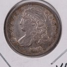 1835 Cap Bust Dime. Extra Fine Plus, Circulated Coin. Store #0515.