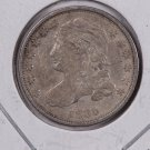 1835 Cap Bust Dime. Extra Fine, Circulated Coin. Store #0517.