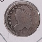 1835 Cap Bust Dime. Circulated Coin. Store #0519.