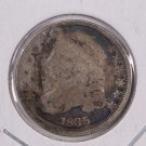 1835 Cap Bust Dime. Circulated Coin. Store #0525.