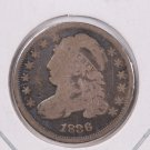 1836 Cap Bust Dime. Circulated Coin. Store #0529.